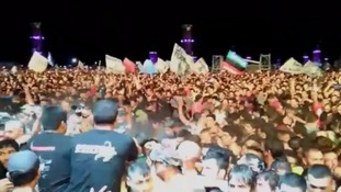 Two killed in Argentina rock concert crush