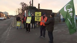 Rail workers strike over driver-only trains