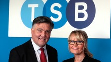 (L to r)  Cllr Mel Speding, Sunderland City Council and Kerry Sharkey, head of telephone banking at TSB.