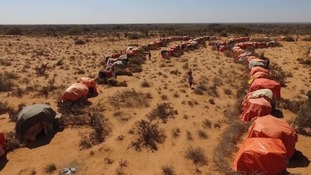 Many people in Somaliland have left their homes in search of food