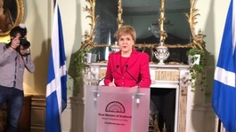May rejects Sturgeon's second independence referendum bid