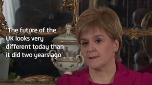 Nicola Sturgeon said the justification for a second referendum was 'beyond doubt'.