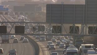 Motorways busier than normal due to strike