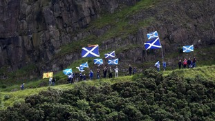 The campaign for a second independence referendum continues to divide Scotland.