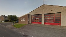 The fire station in Annan.