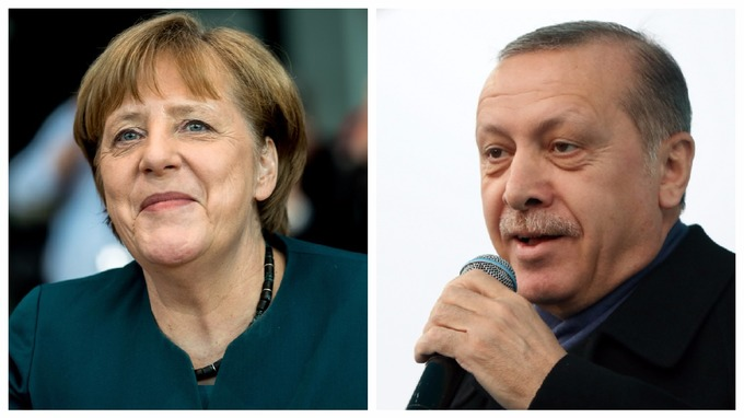 Turkey angered as Angela Merkel brands Nazi jibes 'unacceptable' and backs Netherlands in diplomatic row
