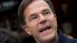 Dutch Prime Minister Mark Rutte is just days away from an election.