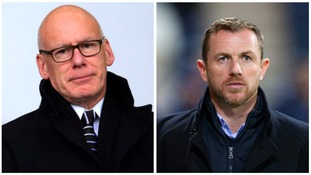 Derby Chairman Mel Morris welcomes Gary Rowett to the club