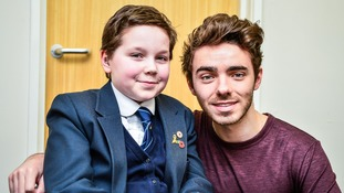 Nathan Sykes and Mimi Kenworthy