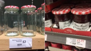 Waitrose attracts ridicule as empty jar on sale for 29p more than one full of jam