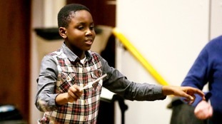 Eleven-year-old schoolboy set to make history as world's youngest orchestra conductor