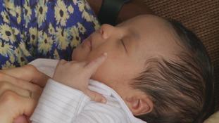 Hospital staff help deliver baby in freezing car park