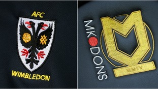 AFC Wimbledon take on MK Dons tonight.