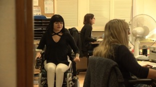 Young disabled woman reveals her fight for employment