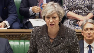 Theresa May was barracked as she said her administration had been 'working closely' with the Scottish government on Brexit.