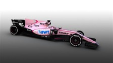 The new Force India VJM10