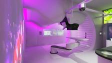 pic of proton treatment unit
