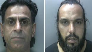 Men jailed after police found shotguns stashed in car