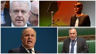 Leaders of 4 parties in Wales