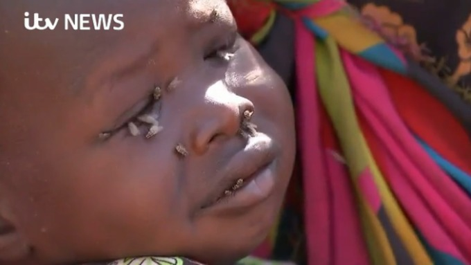 Children in South Sudan are starving