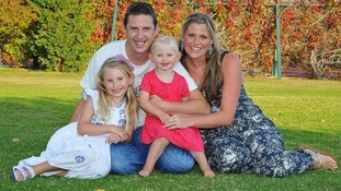 Pc Dave Phillips and his family