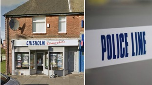 Police are investigating an armed robbery in Wallsend