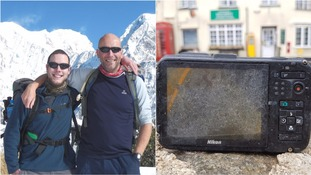 Camera lost at sea for six months reunited with owner - and its photos are still intact