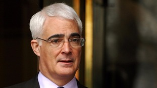 The 'borrowing' chancellor Alistair Darling.