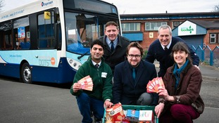 Middlesbrough foodbank launches free travel scheme