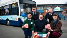 Middlesbrough Foodbank visitors can now benefit from travel vouchers courtesy of Stagecoach