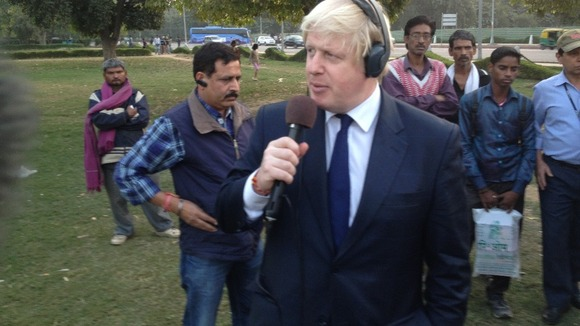 Boris Johnson promotes London on local radio