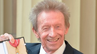 Denis Law after receiving his CBE in 2016
