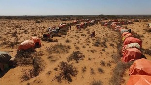 Some parts of East Africa have not had rain in three years