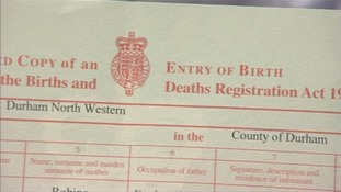 Hartlepool man calls for birth certificate stamps to prevent ID fraud