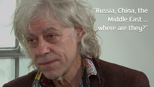 East Africa crisis: Sir Bob Geldof tells ITV News the world must do more to help starving millions