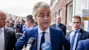 Far-right candidate Geert Wilders has been dubbed the