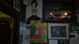 The Clissold Arms has dedicated its walls to its most celebrated former performers.