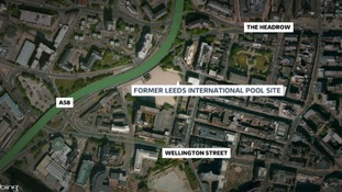 Former leeds international pool site set for development calendar itv news for Leeds international swimming pool