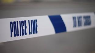 A man has died on a dual carriageway in Suffolk