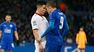 Nasri unhappy with Vardy