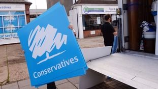 The by-election in Clacton was among those where gaps were identified C