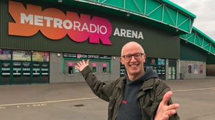 The show's producer, Ray Laidlaw at the arena