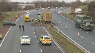 M6 closed after serious crash near Carlisle