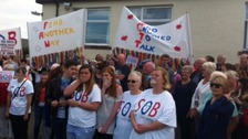 Plans to close beds at community hospitals have sparked anger