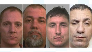 Four drug dealers jailed for more than 30 years