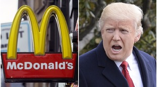McDonald's said its account was