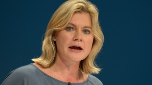 Education secretary Justine Greening is under pressure on school funding