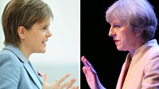 Sturgeon and May: someone has to lose