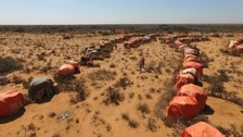 Somaliland has experienced drought for three years.