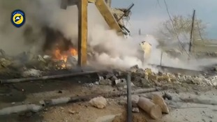 Syria 'airstrike on village mosque kills 42'